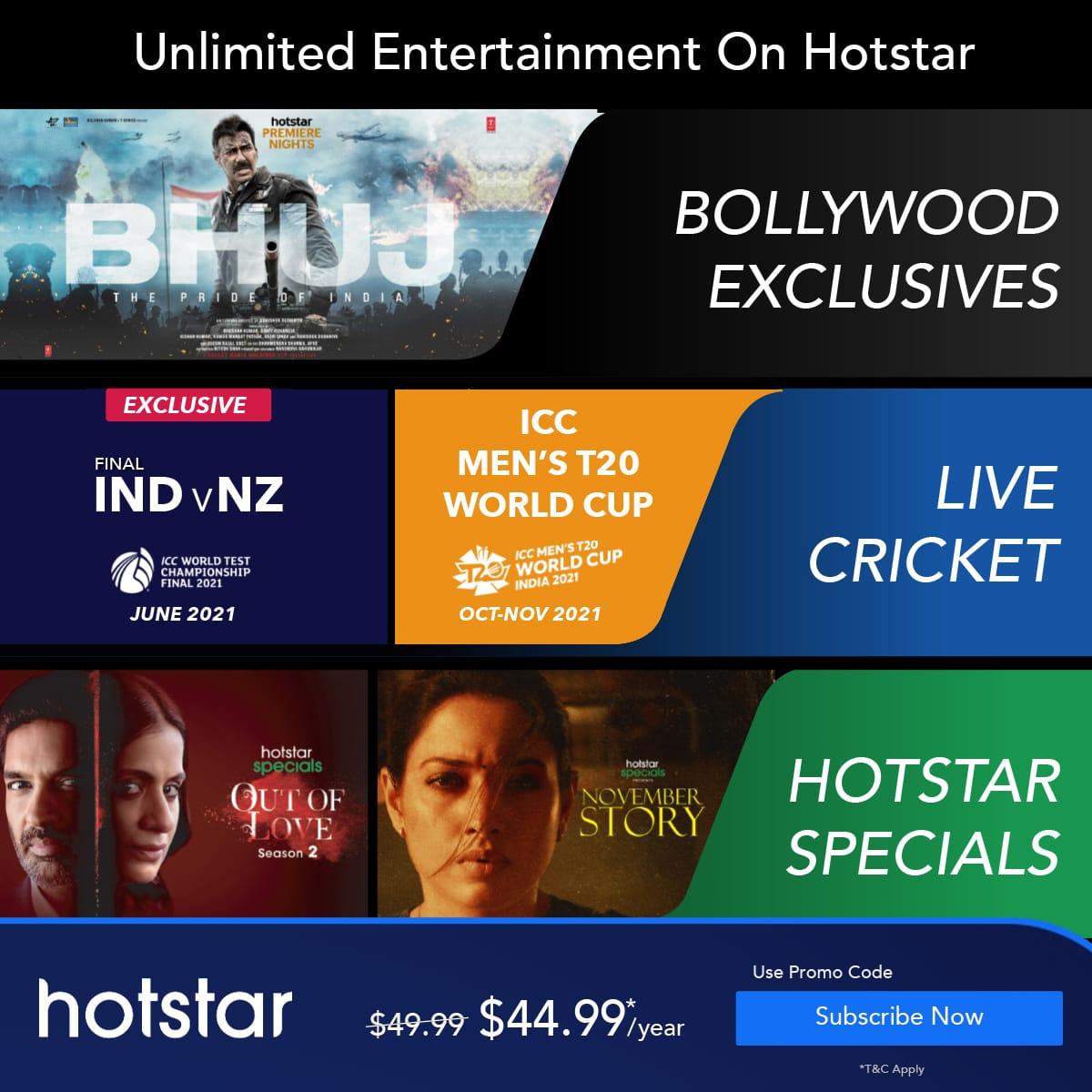 Hotstar usa deals, Hotstar Usa promo cod STAR2021