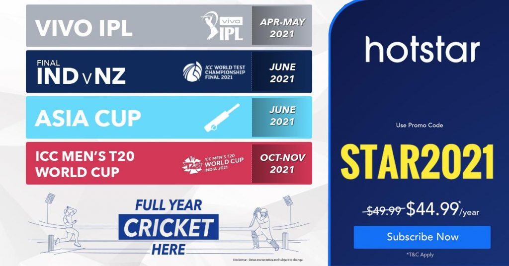 Watch IPL 2021 on Hotstar USA - Hotstar usa